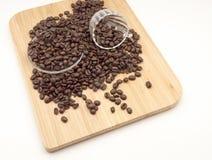 naturligt kaffe royaltyfri foto