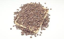 naturligt kaffe arkivbilder
