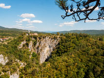 Naturligt landskap Arkivbild