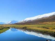 Naturligt landskap Arkivfoton