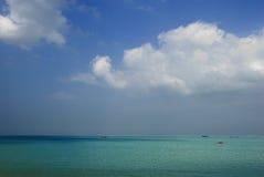 Naturligt landskap av den hainan ön av Kina Arkivbild