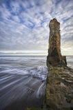 Naturligt landskap av havet av sydliga Chile Royaltyfria Foton