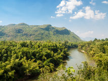 Naturligt landskap, Thailand Royaltyfri Bild