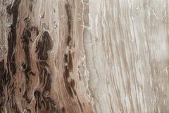 Naturligt marmorera texturcappuccinomarmor för bakgrund Naturliga modeller för design royaltyfria bilder