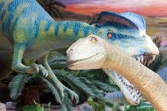 naturligt museum för dinosaurhistoriemodell Royaltyfria Bilder