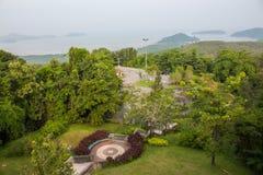 Naturligt parkera, Phuket, Thailand arkivfoto