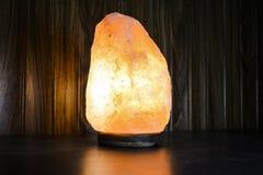 Naturligt salta lampan   Himalayan salta arkivfoto