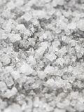 Naturligt salta med stor kristallnärbild Royaltyfri Fotografi
