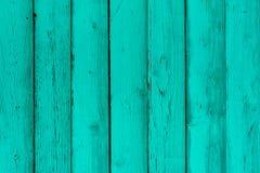 Naturligt trämintkaramellbräden, vägg eller staket med fnuren Fotografering för Bildbyråer