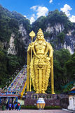 Naturligt turismställe, Batu grotta Royaltyfria Bilder