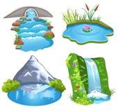 Naturligt vatten Fotografering för Bildbyråer
