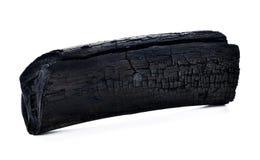 Naturligt wood kol, traditionellt kol royaltyfri fotografi