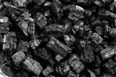 Naturligt wood kol, traditionellt kol eller hårt wood kol r royaltyfri fotografi