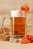 Naturmort de la cerveza Fotografía de archivo libre de regalías