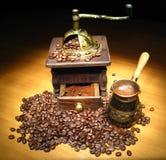 Naturmort del café Foto de archivo libre de regalías