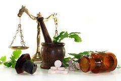 Naturopathy Royalty Free Stock Images