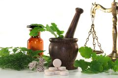 Naturopathy Royalty Free Stock Photos