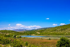 Naturpark Hutovo-blato, Bosnien und Herzegowina Lizenzfreie Stockbilder