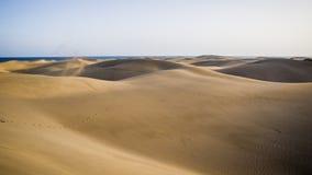 Naturpark und Dünen von Maspalomas, Insel Gran Canaria, Spanien stockfoto