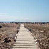 Naturpark von Calblanque murcia spanien stockbild