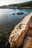 Naturpark von Porto Selvaggio Stockbilder