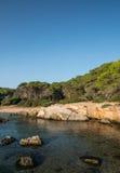 Naturpark von Porto Selvaggio Stockbild