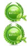 Naturproduktkennsatz stock abbildung