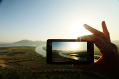 Naturreise Stockfotografie