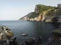 Naturreservat Porto Venere Stockbild