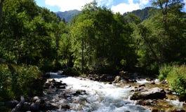 Naturreservat teberda Karachayevo-Cherkessia lizenzfreie stockfotos