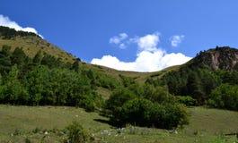 Naturreservat teberda Karachayevo-Cherkessia, Russland Lizenzfreies Stockbild