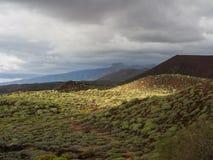 Naturreservat von Malpais de Rasca Lizenzfreies Stockfoto