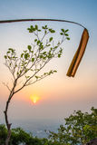 Naturschutzgebiet auf Doi Pui Lizenzfreies Stockfoto