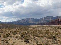 Naturskönhet i staten av nevada Arkivbilder