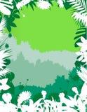 Naturskogbakgrund Royaltyfri Fotografi