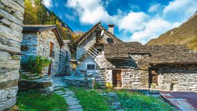 Naturstein Art And Architecture House lizenzfreies stockbild