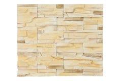 Naturstein auf der Wand Lizenzfreie Stockfotos