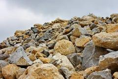 Natursteinbruch Lizenzfreie Stockbilder