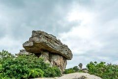 Natursteinskulpturen Stockbilder