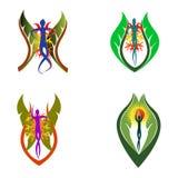 Natursymbol royaltyfri illustrationer