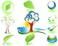 natursymbol Fotografering för Bildbyråer