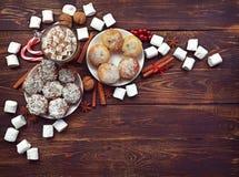 Natursymbol av jul och det nya året som isoleras på vit backgr fotografering för bildbyråer
