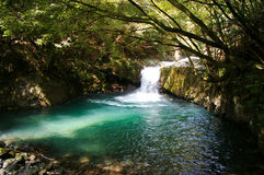 Naturtal hot spring spot Royalty Free Stock Photos