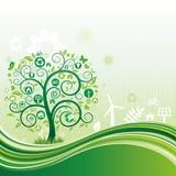 Naturumgebungshintergrund Lizenzfreie Stockfotos