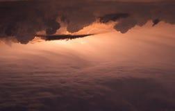 Thunderclouds Royaltyfri Fotografi