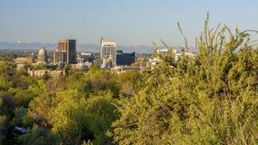 Naturvegetation in den Vorbergen über Boise Idaho Stockfotos
