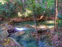 Naturwasserfall Stockbild