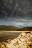 Natury doliny laguna Obraz Stock