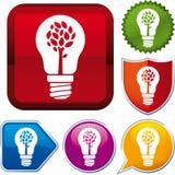 Natury energii ikona Obraz Stock