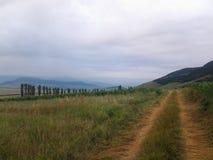 Natury góry rolnictwo Zdjęcia Stock